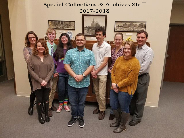 Archives Staff 2017-2018